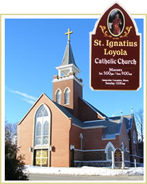 St. Ignatius Loyola in St. Ignace, Michigan